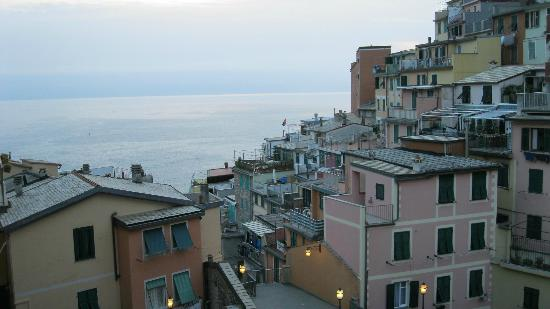 Locanda dalla Compagnia: sea and city view from the balcony