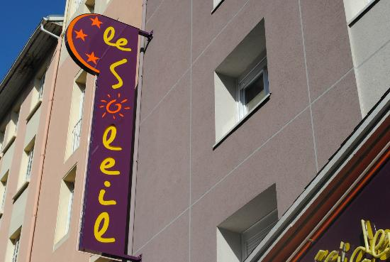 Residence Le Soleil : The Front Signage