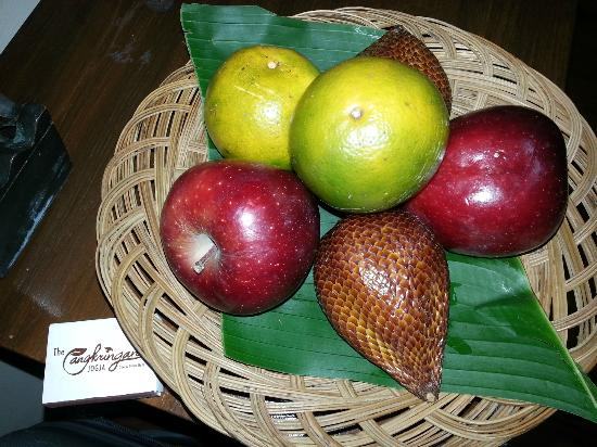 Cangkringan Jogja Villas & Spa: welcome fruit