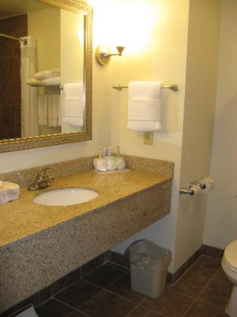 Holiday Inn Express Hotel & Suites Lafayette East: Lafayette HIE, bath