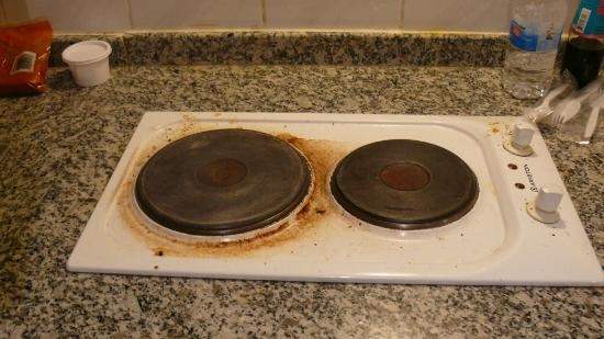 Savoy Park Hotel Apartments: Hotl Plate / Stove