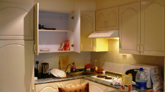 Savoy Park Hotel Apartments: Kitchenette