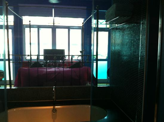 New Majestic Hotel: view from shower area