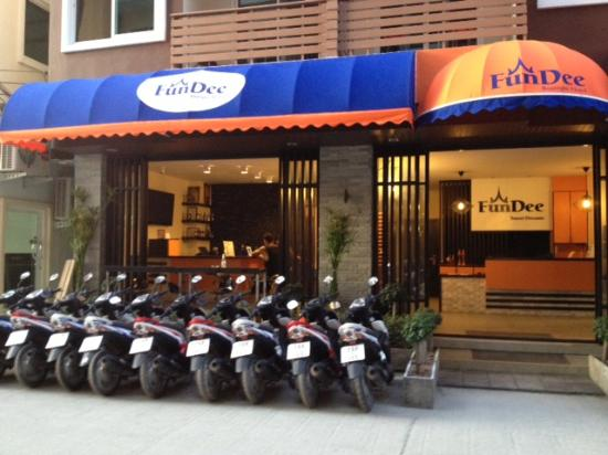 Brand new bikes picture of fundee boutique hotel patong for Best boutique hotel brands
