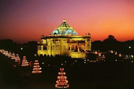 Gandhinagar, Indien: Swaminarayan Temple