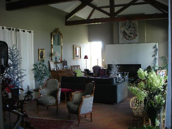 Romans, France: Living room