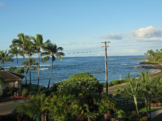 Lawai Beach Resort: View from balcony