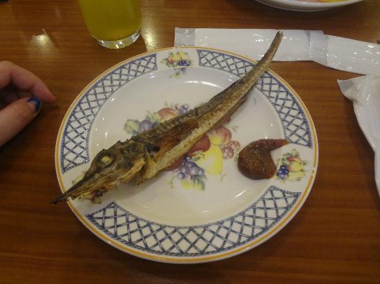 Kitayuzawa Mori no Soraniwa: Grilled fish from buffet station