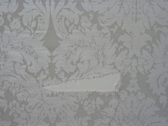 Clarion Collection Bristol Hotel : tear in wallpaper