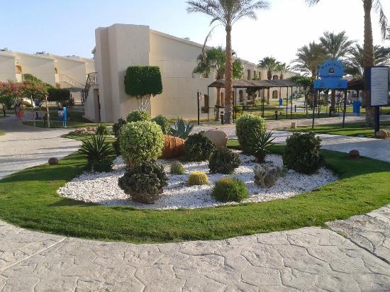 Island View Resort: garden