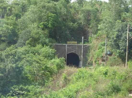 Araku Valley: One of the cave were the train will go