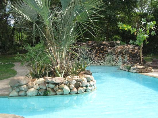 Sarova Shaba Game Lodge: Gun Shaped Concept Swimming Pool