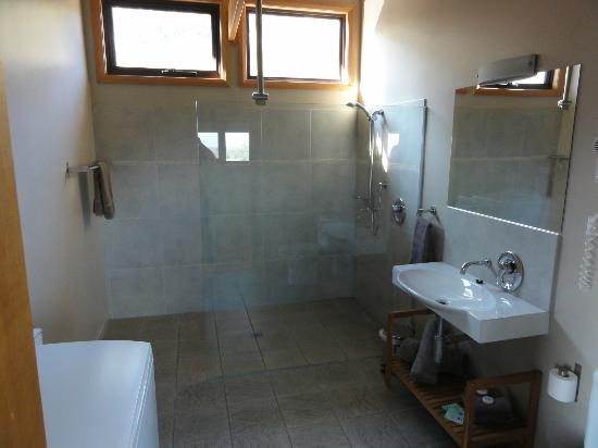 Freycinet Eco Retreat: Gorgeous bathroom (eco lodge #1)