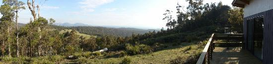 Freycinet Eco Retreat: View from the deck (eco lodge #1)