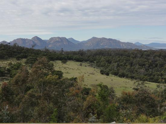 Freycinet Retreat: View from the deck (eco lodge #1)