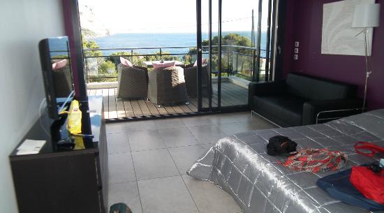 Villa Cassis: Studio