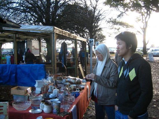 Riccarton Rotary Sunday Market : One of the many interesting stalls..