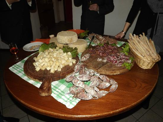 Buttigliera Alta, إيطاليا: buffet 