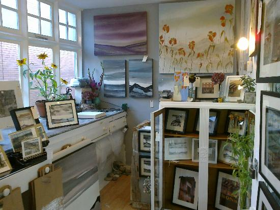 Manchester Craft and Design Centre: Studio/shop selling original art, silk bags, scarves and one off cards.