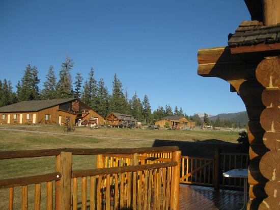 Echo Valley Ranch & Spa: View from Dove Lodge