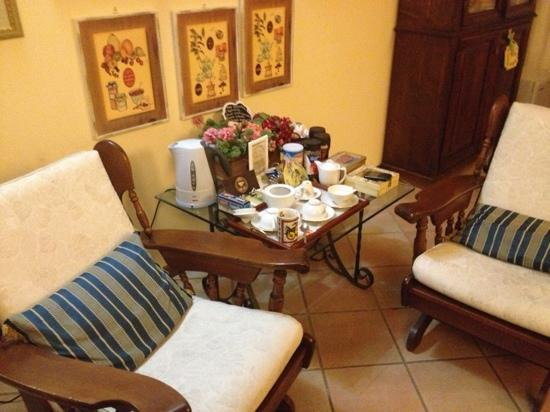 Bed and Breakfast New Day: angolo relax