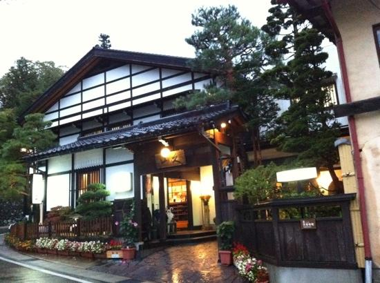 Oyado Yamakyu: Yamakyu ryokan in the early evening
