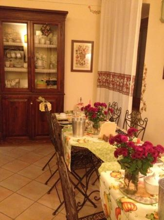 Bed and Breakfast New Day: la colazione....