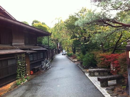 Oyado Yamakyu: old houses in historic district