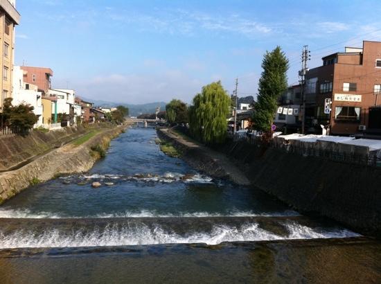 Oyado Yamakyu: Miyagawa river