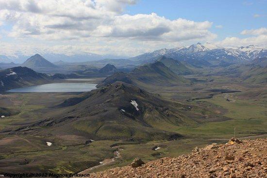 Landmannalaugar, Iceland: View over Álftavatn