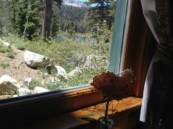 The Lakefront Restaurant: window view