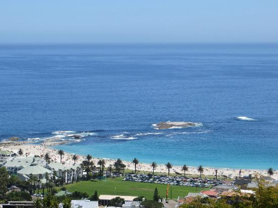 Boutique @ 10: Camps Bay Beach from the pool deck ...