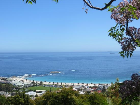 Boutique @ 10: Fabulous views of Camps Bay Beach from the entire property ...