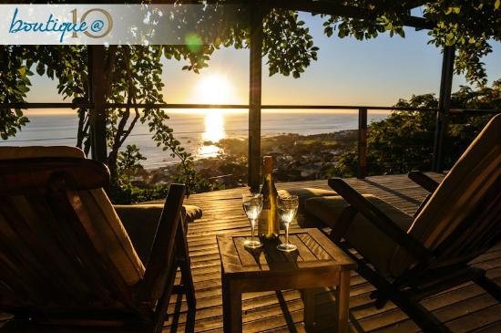 Boutique @ 10: Sundowners on the Ocean Suite deck ...