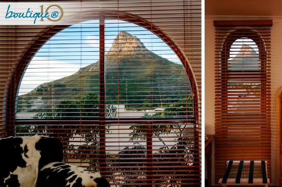 Boutique @ 10: View out side window in the Lion's Head Suite ...