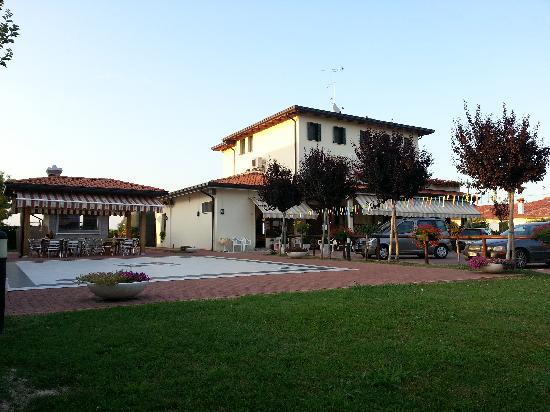 San Michele Al Tagliamento, Italie : vista del ristorante