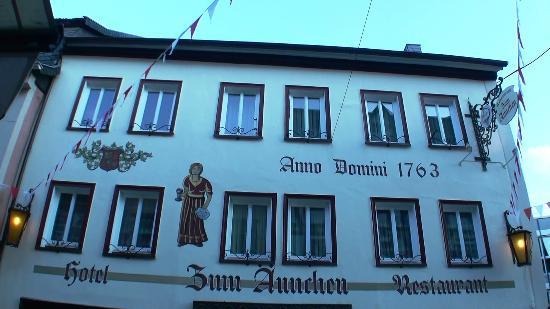 Zum Ännchen, Ahrweiler, voorfacade.