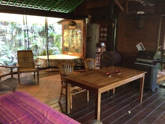 Amazing Wollumbin Palms Retreat at Mt Warning: Breezeway