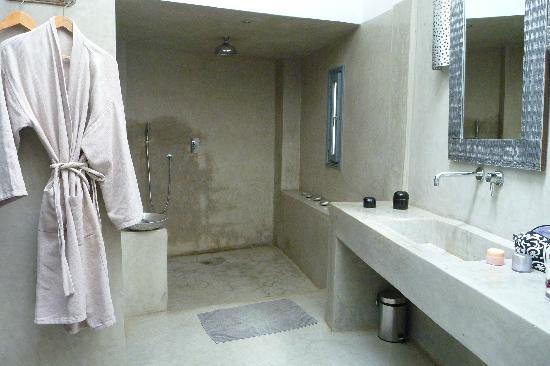 Riad Awa: sdb de la suite