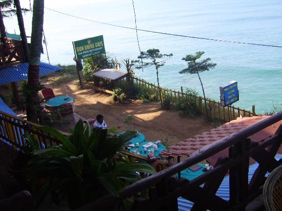 Sunshine Cafe/Sea Food Restaurant: Blick von oben