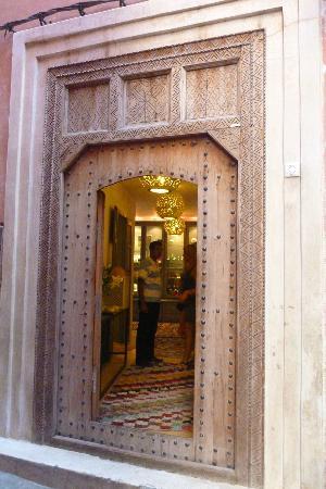 Riad Awa: la porte d'entrée du riad