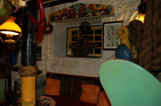 Chapel Street: Colourful pub interior in Chapel St