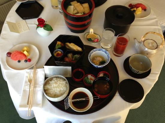 Park Hyatt Tokyo: 和朝食