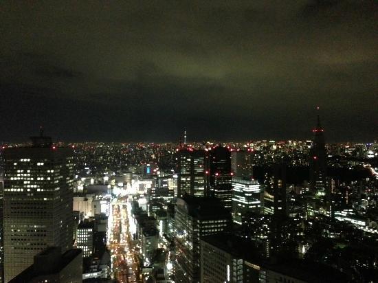 Park Hyatt Tokyo: 新宿駅方面