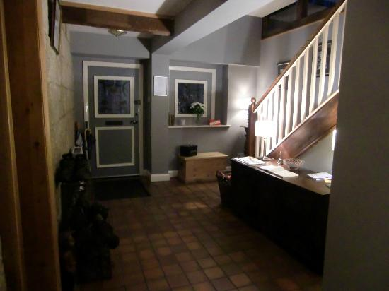 Over the Bridge Bed & Breakfast: The Entrance hall