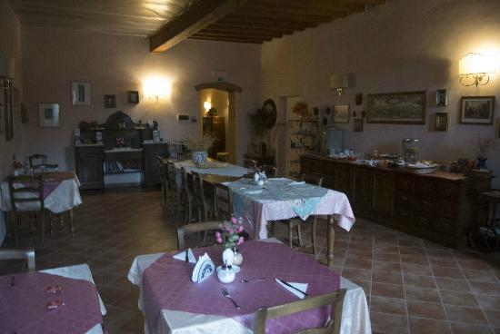 De' Benci Bed and Breakfast in Firenze: Sala comune