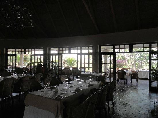 Ilala Lodge Hotel: la sala ristorante