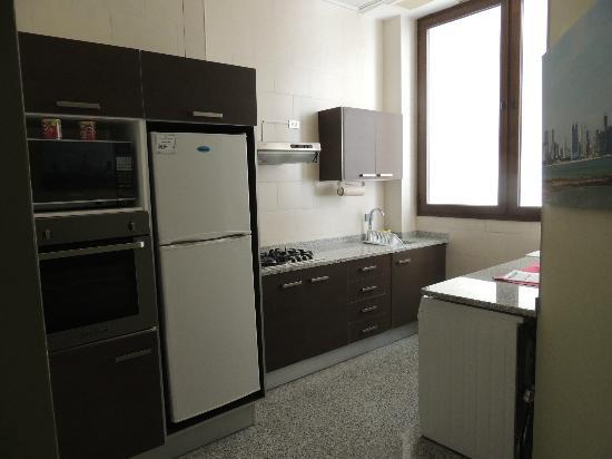 Aparthotel Torres de Alba: Cocina
