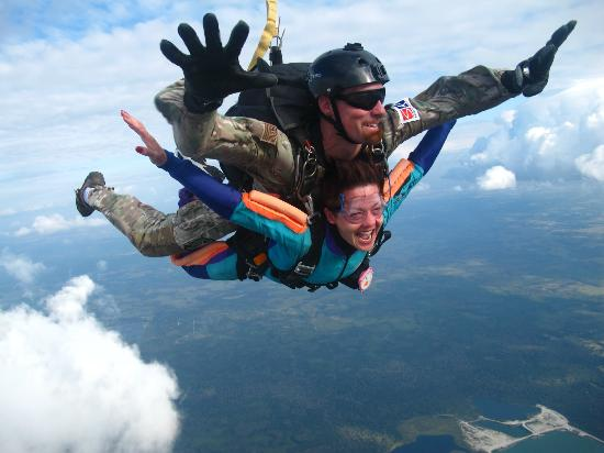 Zephyrhills, FL: Skydiving with Greg