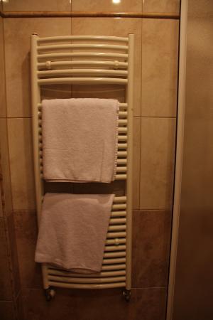 Hotel Atlantic: Toallero (calienta las toallas)
